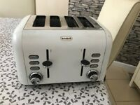 Breville 4x slice toaster