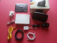 Bundle BT Wi-Fi Modem Router + BT Infinty + Cables