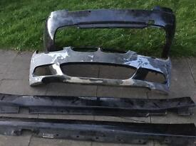 BMW E92 E93 M Sport front and rear bumpers with side skirts