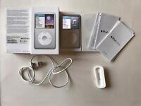 Apple iPod classic 7th gen 160GB silver loud flawless boxed
