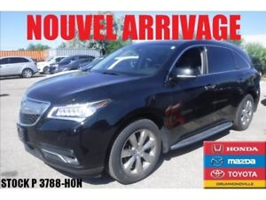 2016 Acura MDX ELITE PACK+DVD+GPS+7 PASSAGER+++