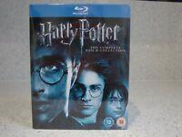 Harry Potter Blu Ray Set