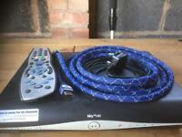 Sky+ hd box with leads
