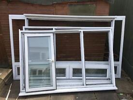 Double glazed windows x 3