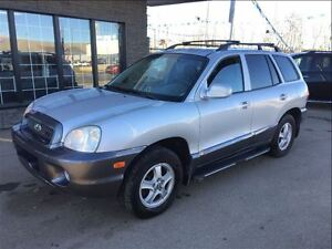 2004 Hyundai Santa Fe GLS LOADED