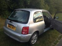 Nissan Micra - Great Little First Car. 38K Miles. MOT until May 17