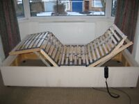 electric adjustable single bed for mobility issues £40