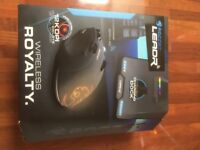 Roccat Leadr Wireless 12000DPI gaming mouse. Brand new and un-used.