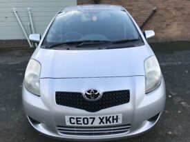 Great Value 2007 Toyota Yaris 1.3 MMT Automatic T3 5 Dr Hatch 86000 Miles Sept MOT