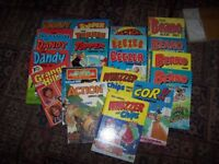 JOBLOT OF 20 VINTAGE HARDBACK ANNUALS