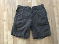 "Womens Columbia Brown Shorts Size Medium. 30"" Walking .Vgc"