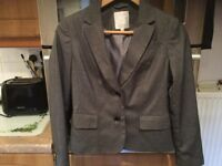 DEBEHAMS PETITE COLLECTION lined suit size 10. IMMACULATE CLEAN CONDITION. ONLY needs a quick iron.