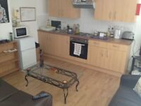 Modern 2 floor furnish studio with a balcony.Includes council tax +water rates. Near Palmeria Square