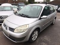 2005/54 RENAULT GRAND SCENIC 1.6 VVT DYNAMIQUE,P/X TO CLEAR,SUPPLIED WITH A NEW MOT,DRIVES WELL