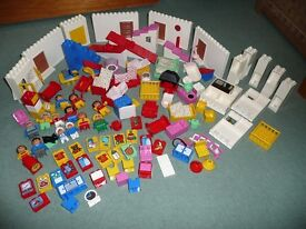 Lego Duplo - Big Collection - House, train, zoo,bricks,boards