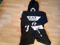 EA7 ARMANI HOODIE TRACKSUIT
