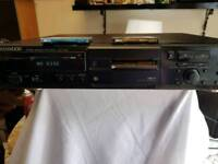 Kenwood minidisc recorder dmf3020