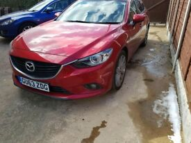 Mazda 6 sport estate petrol 2.0; great condition as new. Great for fuel. cheap tax