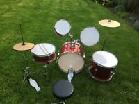 Kids Acoustic Drum Kit