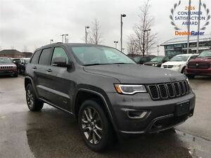 2017 Jeep Grand Cherokee **DEMO*ONLY 3301 KMS*LIMITED*75TH ANNIV