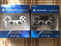 SONY PLAYSTATION 4 CONTROLLERS - BRAND NEW & SEALED / PS4 DUALSHOCK 4