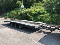 For sale heavy duty 3.5 ton car van trailer transporter