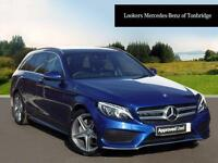 Mercedes-Benz C Class C220 D AMG LINE PREMIUM (blue) 2017-03-07