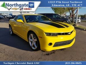 2014 Chevrolet Camaro 2LT, Automatic, Leather, Sunroof, Navigati