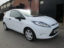 2009 (59) FORD FIESTA VAN DIESEL IMMACULATE Part exchange available / Credit & Debit cards accepted