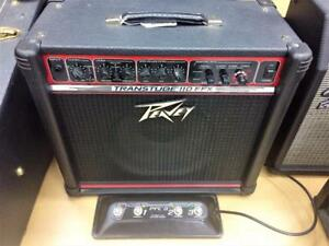 Amplificateur de guitare PEAVEY Transtube 110 EFX + Footswitch ***Testé et garanti*** #F008124