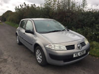 2004 Renault Megane 1.4 Full Years Mot Today 5 Door Very Good Condition Inside & Out