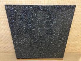 Blue Pearl stone granite work top