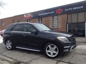 2015 Mercedes-Benz M-Class ML 350 BlueTEC | FULLY LOADED | NAVIG