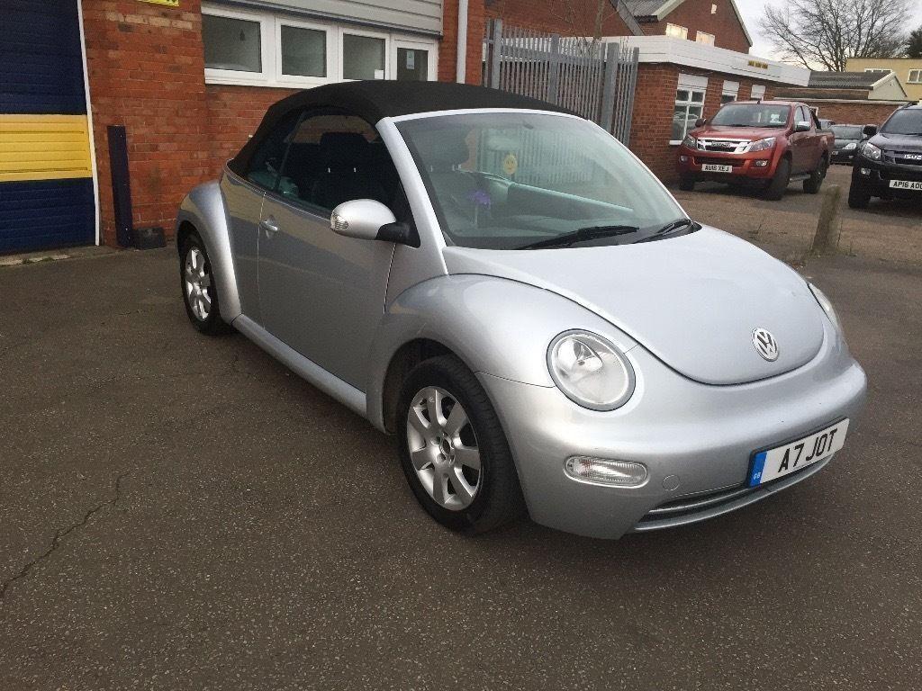 2004 Volkswagen Beetle Convertible 1 9 Tdi 12 Months Mot 3 Parts And Labour Warranty