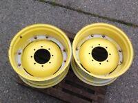 **NEW** John Deere Rear Tractor Wheel Centres 28 x 15 --£200 ono--