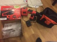 Snap on 1/2 inch impact gun with built in light MTE 88500