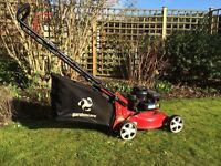 Lawn Mower Briggs Stratton 450 series petrol, Very good condition 2 years old