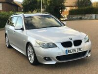 BMW E61 535d M Sport Touring Estate Diesel Auto *FSH HPI Clear Good Runner 05 Automatic