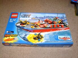Lego City Fireboat with Motor