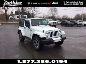 2016 Jeep Wrangler Sahara 4X4 | CLOTH | DUAL TOPS | NAV |