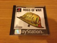 Hogs of war PlayStation 1 game ps1