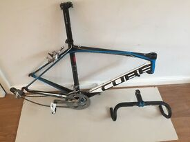 CUBE Agree GTC Carbon Fibre Frame + parts - 56cm