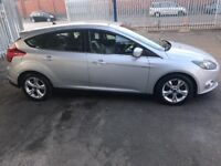 Ford focus 1.6 diesel MOT 16-4- 2019 zero road tax very economy Low mileage 79,000 on the clock