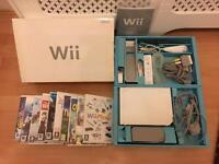 Nintendo Wii console , boxed plus 10 games bundle - bargain £39