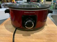 Morphy Richards Slow Cooker w/ Lid