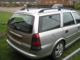 2000 Vauxhall Vectra LS Estate,manual