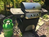 Brand new BBQ grill + gas bottle