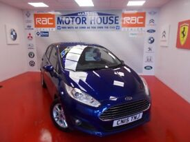 Ford Fiesta ZETEC (FREE MOT'S AS LONG AS YOU OWN THE CAR!!!) (blue) 2015