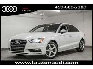 2015 Audi A3 1.8T KOMFORT STYLING PACKAGE XENON