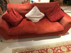 Terracotta Sofa for sale